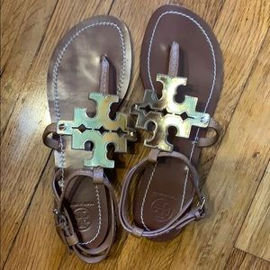 TORY BURCH LEATHER THONG